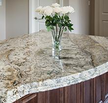 Granite Countertop Room Scene