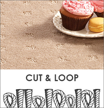 Cut & Loop combines both cut and uncut loops to create patterns and textures.